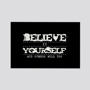 Believe in Yourself V2 Rectangle Magnet
